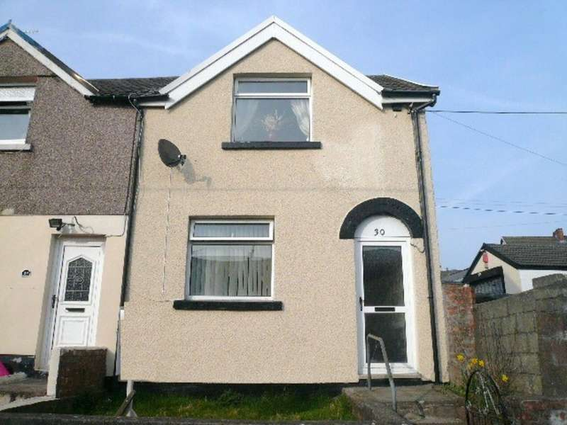2 Bedrooms End Of Terrace House for sale in King Street, Pant, Merthyr Tydfil