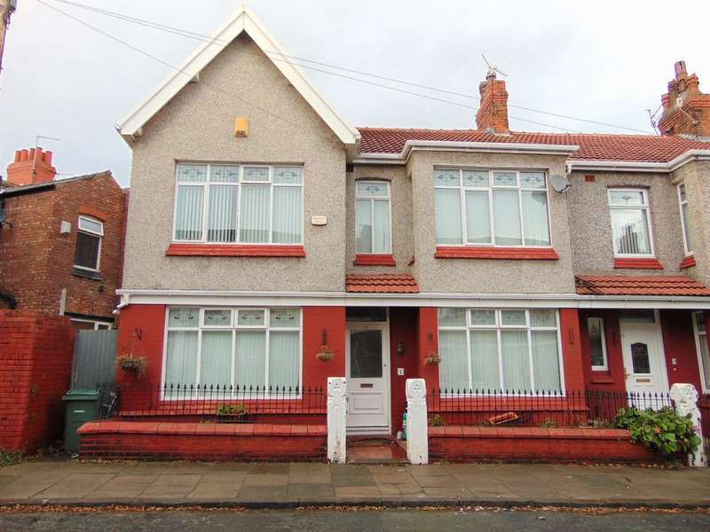 3 Bedrooms End Of Terrace House for sale in Cressington Avenue, Prenton