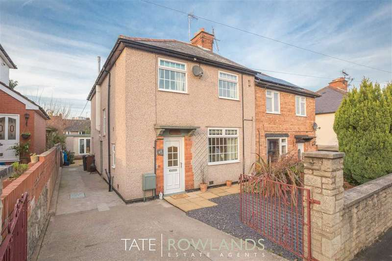 3 Bedrooms Semi Detached House for sale in Park Avenue, Flint