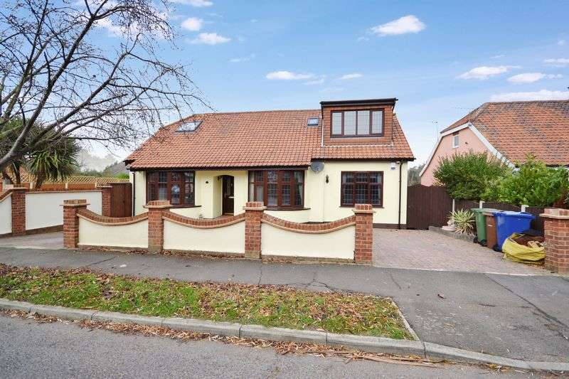 4 Bedrooms Detached House for sale in Lampits Hill Avenue, Stanford-Le-Hope