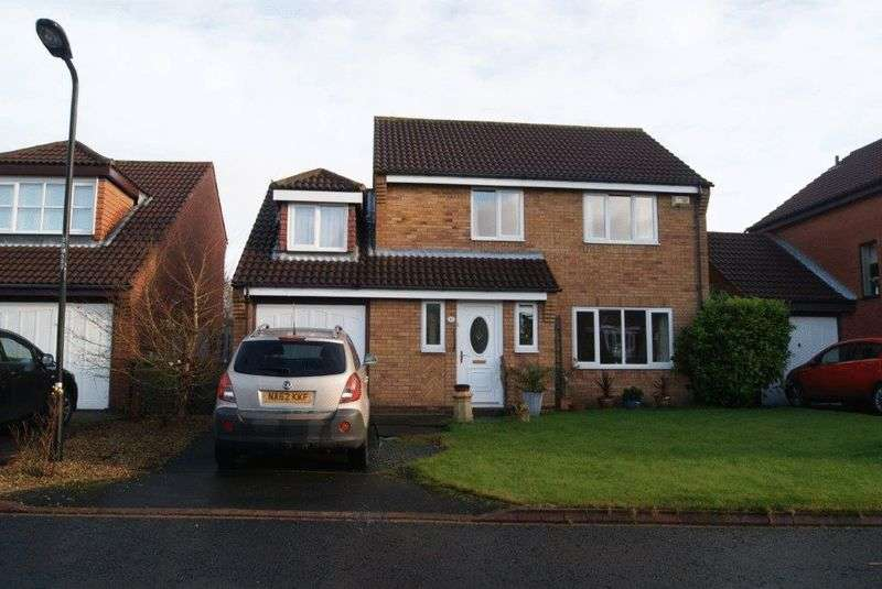4 Bedrooms Detached House for sale in Mount Close, Killingworth