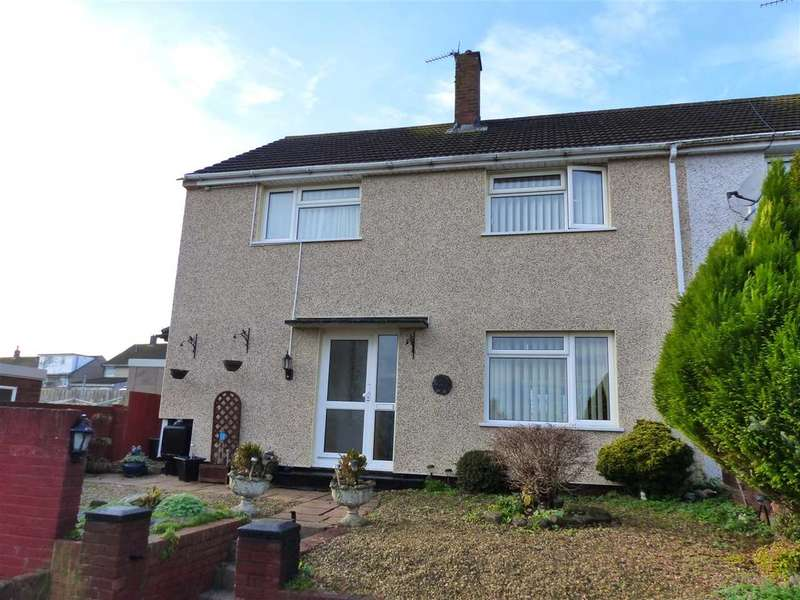 4 Bedrooms Semi Detached House for sale in Somerset Way, Bulwark, Chepstow