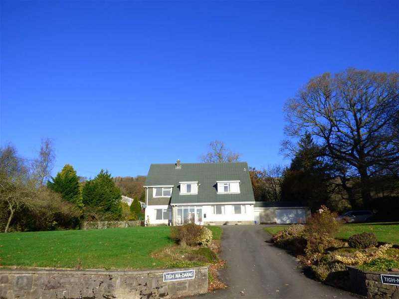 4 Bedrooms Detached House for sale in Tigh-Na-Darag, Old Court Road, Llanvair Discoed, Chepstow