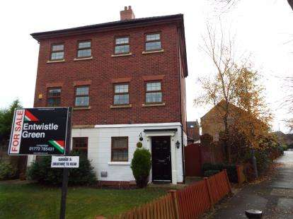 3 Bedrooms Semi Detached House for sale in Douglas Lane, Grimsargh, Preston, Lancashire, PR2