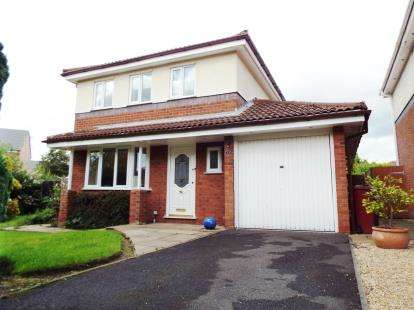 4 Bedrooms Detached House for sale in Lindale Road, Longridge, Preston, Lancashire, PR3