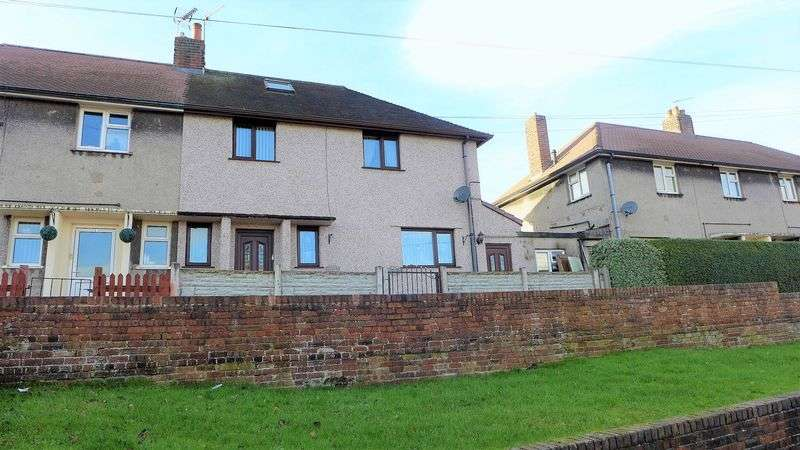3 Bedrooms Semi Detached House for sale in Dyke Street, Wrexham