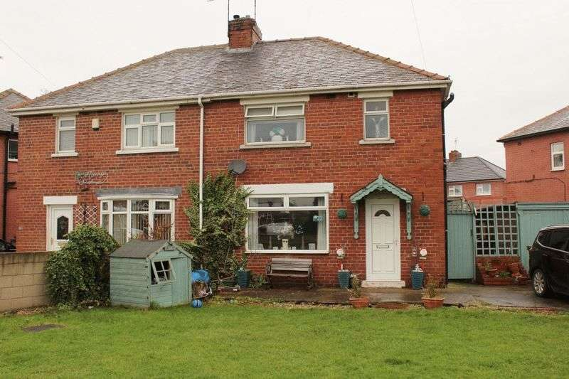 3 Bedrooms Semi Detached House for sale in Westfield Road, Knottingley