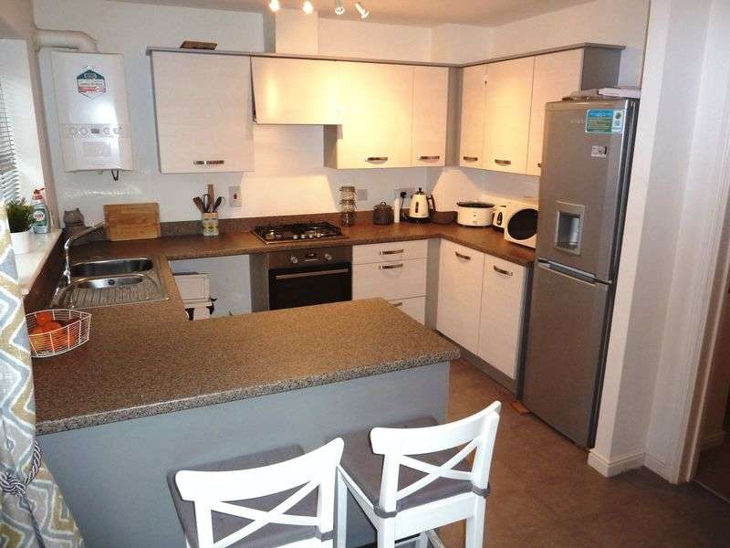 3 Bedrooms Semi Detached House for sale in White Farm, Barry