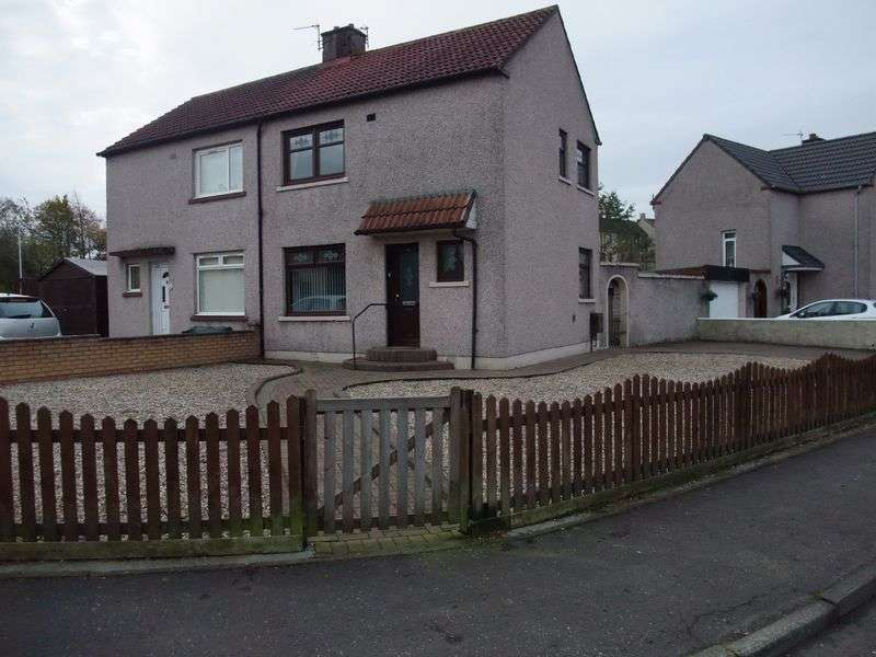 2 Bedrooms Semi Detached House for sale in Copeland Crescent, Cowdenbeath