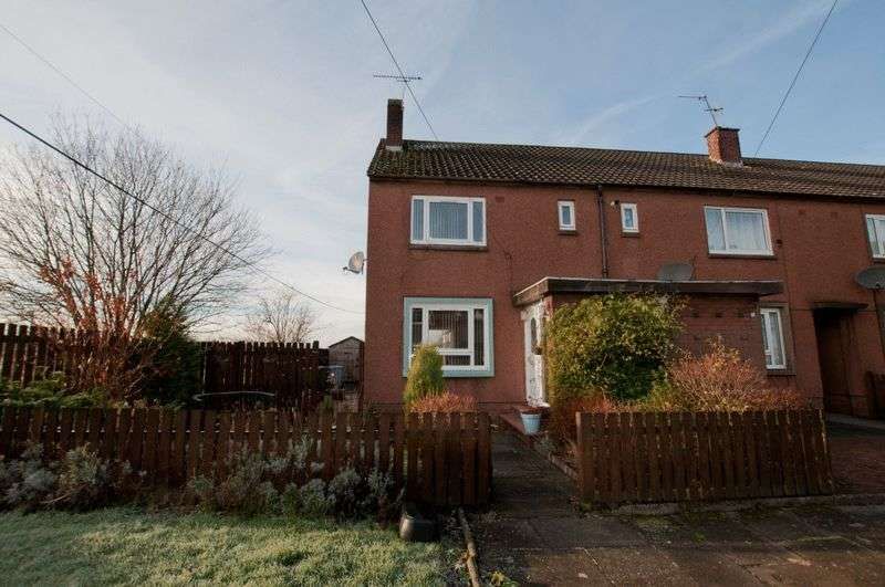 2 Bedrooms Terraced House for sale in Caroline Crescent, Alva
