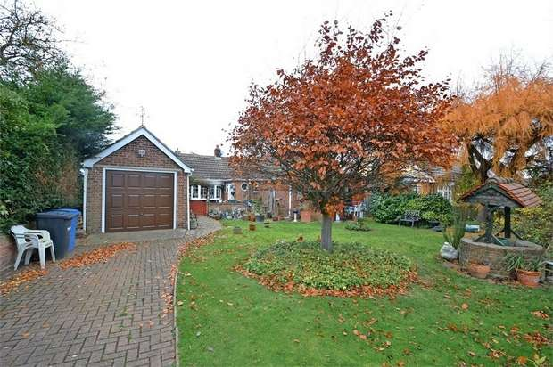 3 Bedrooms Detached Bungalow for sale in Grove Hill, Belstead, Ipswich, Suffolk