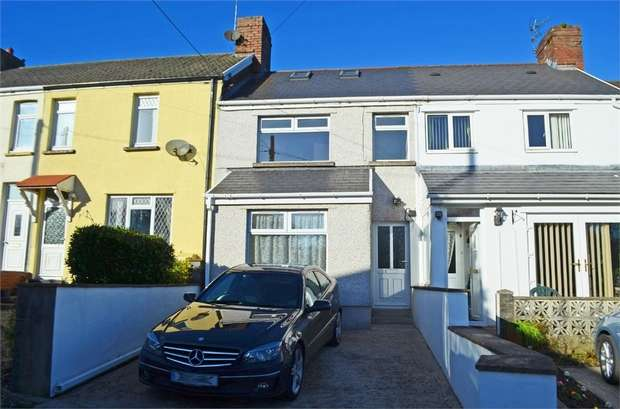 4 Bedrooms Terraced House for sale in Court Terrace, Cwm Ffoes Bridgend, CF32 0BY, Mid Glam CF32 0BY