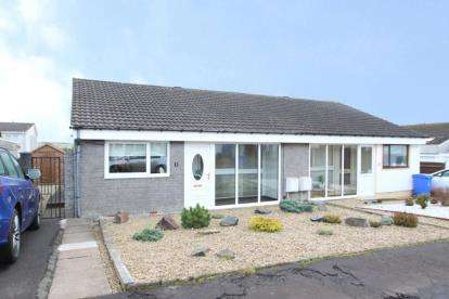 2 Bedrooms Bungalow for sale in Dornie Close, Stewarton, East Ayrshire