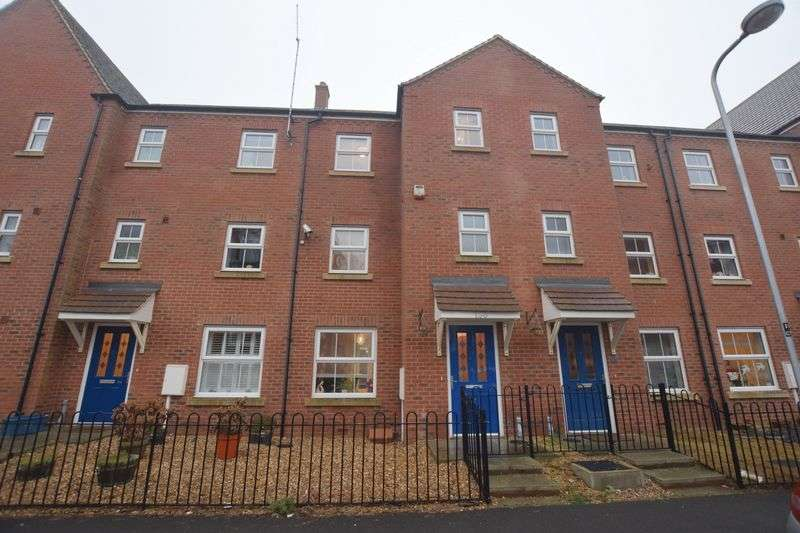 3 Bedrooms Terraced House for sale in Colossus Way, Bletchley, Milton Keynes