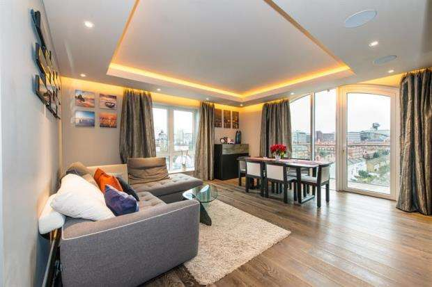 2 Bedrooms Apartment Flat for sale in Distillery Wharf, Regatta Lane, London, W6
