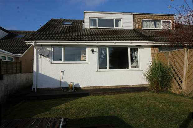 2 Bedrooms Semi Detached Bungalow for sale in The Links, Trevethin, Pontypool