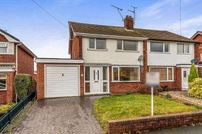 3 Bedrooms Semi Detached House for sale in Newland Avenue, Stafford, Staffordshire