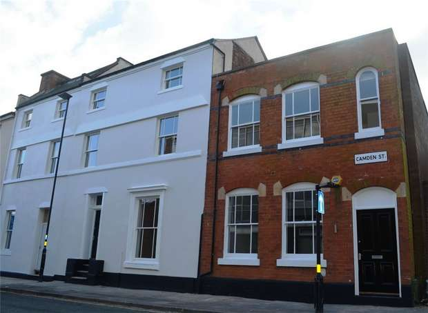 3 Bedrooms End Of Terrace House for sale in Camden Street, Jewellery Quarter, Birmingham, West Midlands