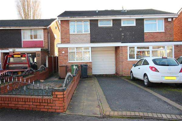 3 Bedrooms Semi Detached House for sale in Dartmouth Close, Walsall