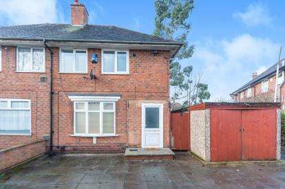 2 Bedrooms Semi Detached House for sale in Peplow Road, Birmingham, West Midlands, Birmingham