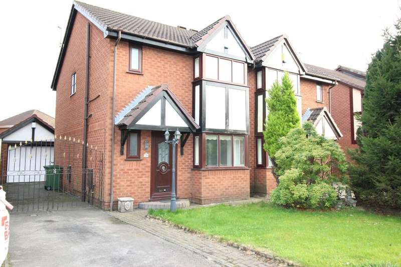 3 Bedrooms Semi Detached House for sale in Belvedere Road, Ashton-In-Makerfield, Wigan, WN4