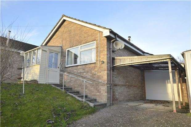 2 Bedrooms Detached Bungalow for sale in Elm Road, Stroud, Gloucestershire, GL5 4NT