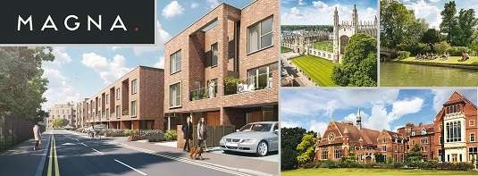 1 Bedroom Flat for sale in MAGNA, Harrison Drive, Cambridge