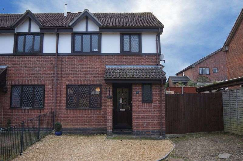 3 Bedrooms Semi Detached House for sale in Holly Close, Grantham