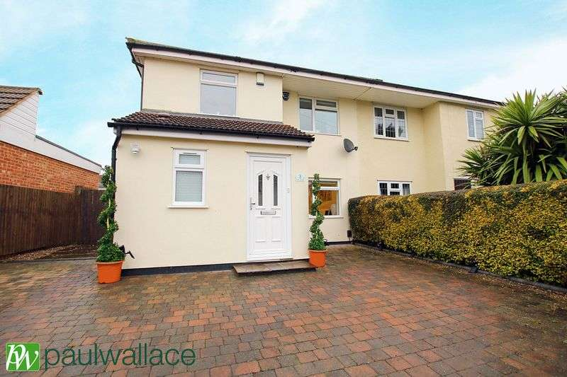 3 Bedrooms Semi Detached House for sale in The Drive, Goffs Oak
