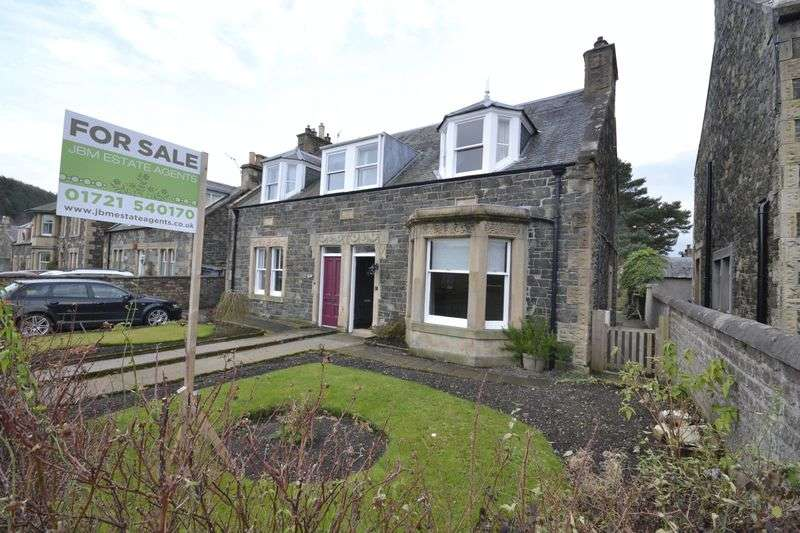 3 Bedrooms House for sale in Alexander Cottage, 21 March Street, Peebles, EH45 8EP