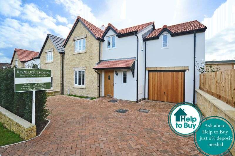 4 Bedrooms Detached House for sale in New Home within walking distance of Wedmore