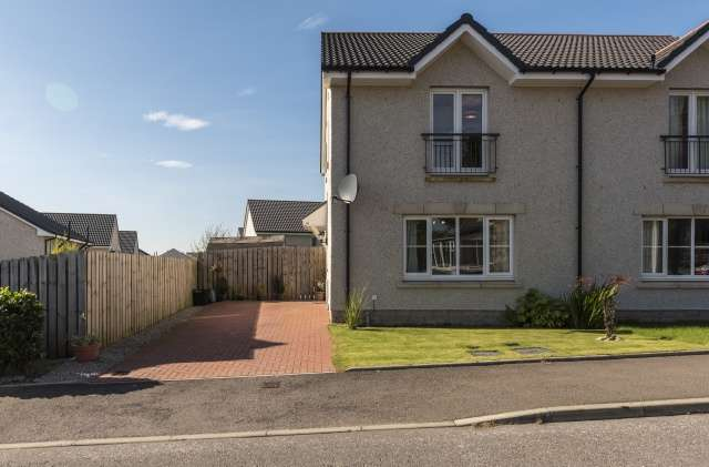 3 Bedrooms Semi Detached House for sale in Schoolhill Road, Portlethen, Aberdeen, Aberdeenshire, AB12 4RE