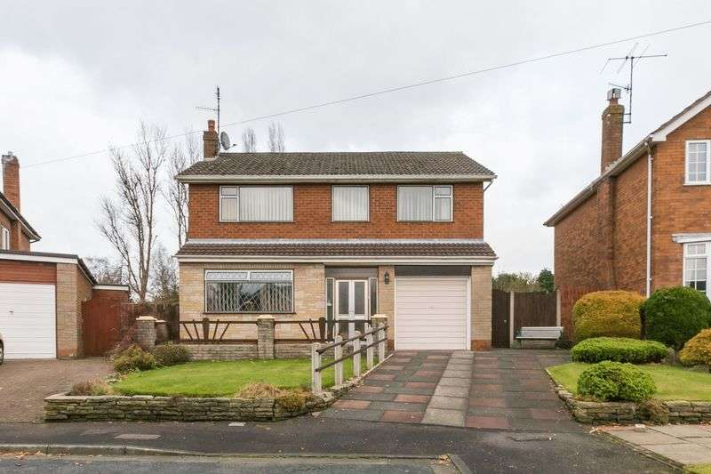 4 Bedrooms Detached House for sale in Brookfield, Parbold, WN8 7JJ