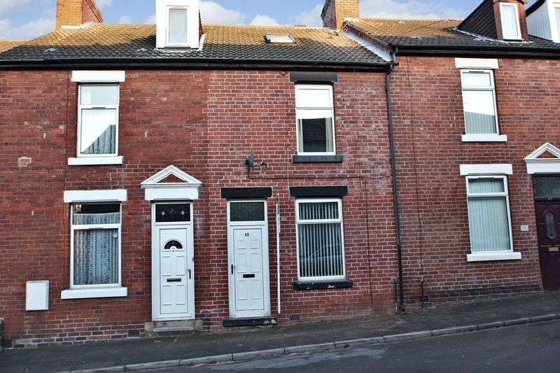 3 Bedrooms Terraced House for sale in Queen Street, Pontefract