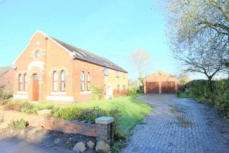 5 Bedrooms Detached House for sale in Shraley Brook Road, Halmer End