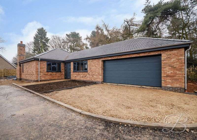 3 Bedrooms Detached Bungalow for sale in Berry Hill Lane, Mansfield