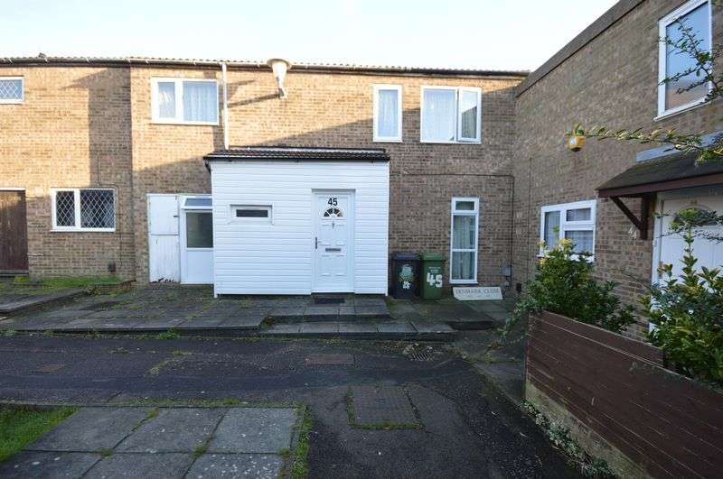 3 Bedrooms Terraced House for sale in Denmark Close, Luton