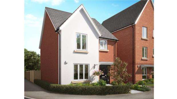 3 Bedrooms Detached House for sale in Hyde End Road, Reading, Berkshire