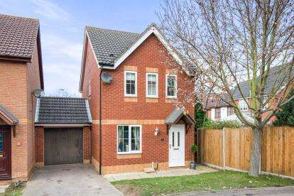 3 Bedrooms Link Detached House for sale in Dussindale, Norwich, Norfolk