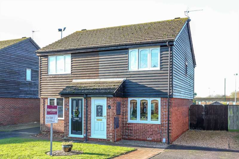 2 Bedrooms Semi Detached House for sale in Fir Tree Avenue, Wallingford