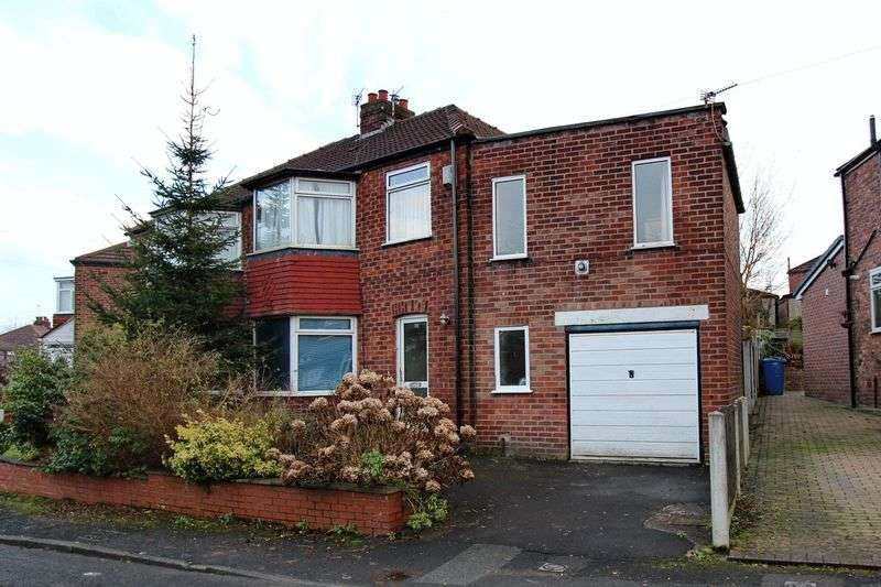 4 Bedrooms Semi Detached House for sale in Ridge Crescent, Whitefield, Manchester