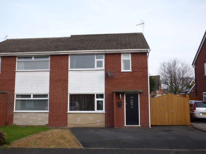 5 Bedrooms Semi Detached House for sale in Lear Drive, Crewe, Cheshire, CW2