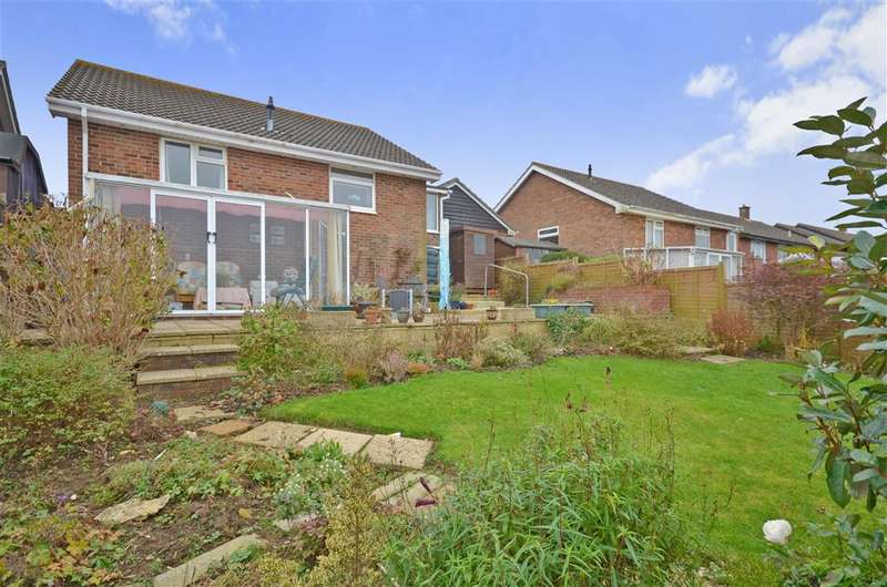 2 Bedrooms Detached Bungalow for sale in Pursley Close, Sandown, Isle of Wight