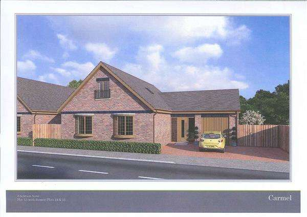 3 Bedrooms Detached Bungalow for sale in Glanfryn court, DREFACH, Llanelli
