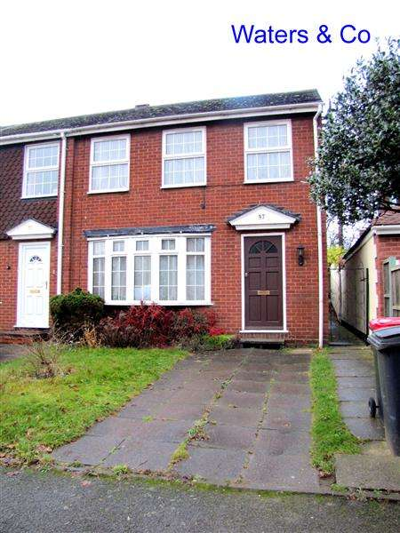 3 Bedrooms Terraced House for sale in Parkfield Road, Coleshill