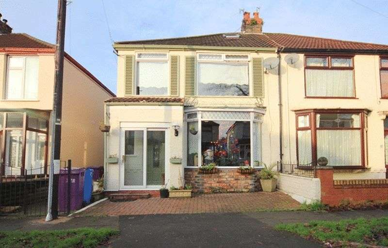 3 Bedrooms Semi Detached House for sale in Stratford Road, Garston, Liverpool, L19