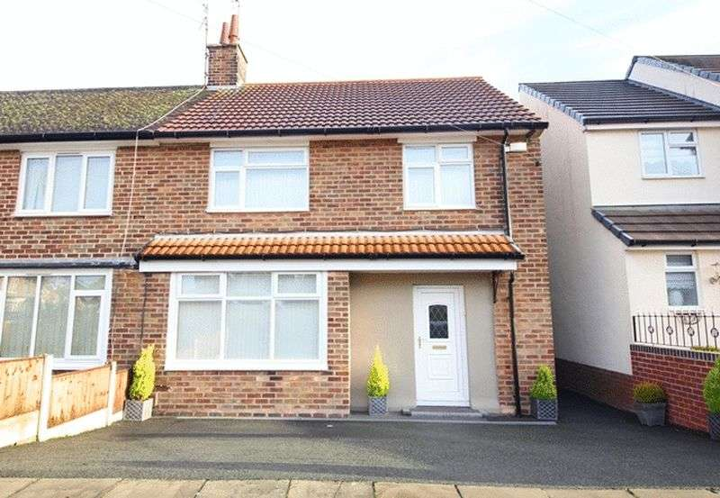 3 Bedrooms Semi Detached House for sale in Highbank Drive, Garston, Liverpool, L19