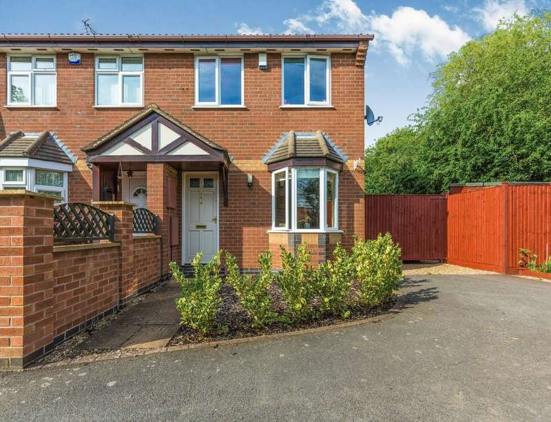 3 Bedrooms Semi Detached House for sale in Meadowsweet Road, Hamilton, Leicester, LE5