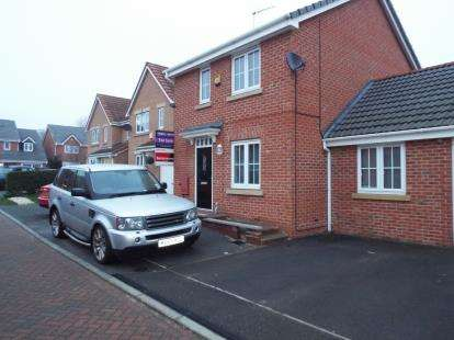 4 Bedrooms Link Detached House for sale in Dairy Square, Beechdale, Nottingham, Nottinghamshire