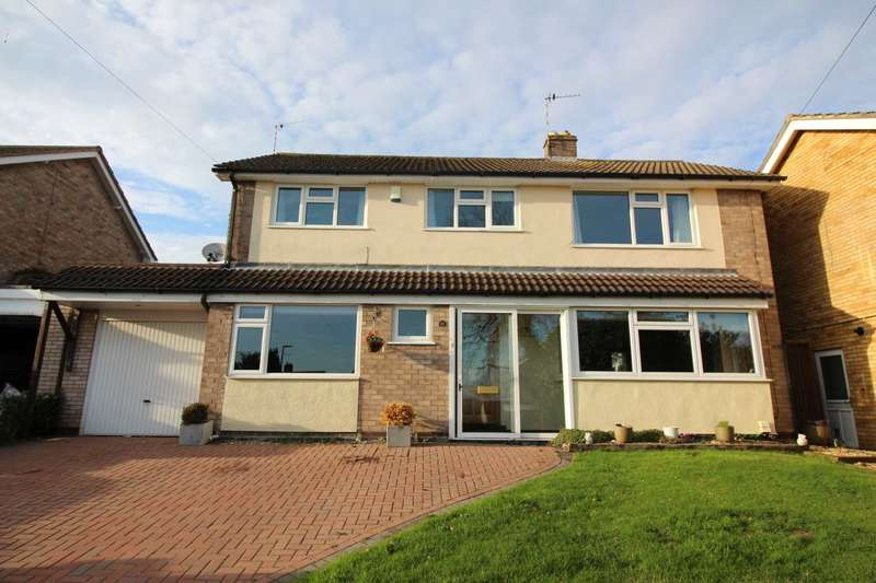 4 Bedrooms Detached House for sale in Waterfield Road, Cropston, Leicestershire